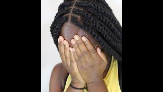 (TUTORIAL) Marley twist using Cuban or Mojito twist Marley hair