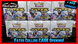 getlinkyoutube.com-Pokemon Cards XY Fates Collide Booster Case Opening of 6 Boxes