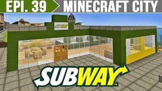 Minecraft City - Subway