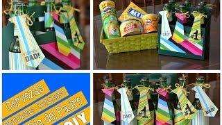 getlinkyoutube.com-Cervezas decoradas y botanero (DIY) Día del Padre