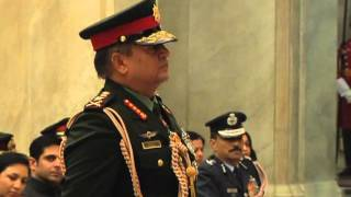 getlinkyoutube.com-President Conferring General of the Indian Army to Chief of the Army Staff, Nepalese Army-8-1-13