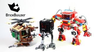 Lego Movie 70813 Rescue Reinforcements - Lego Speed build