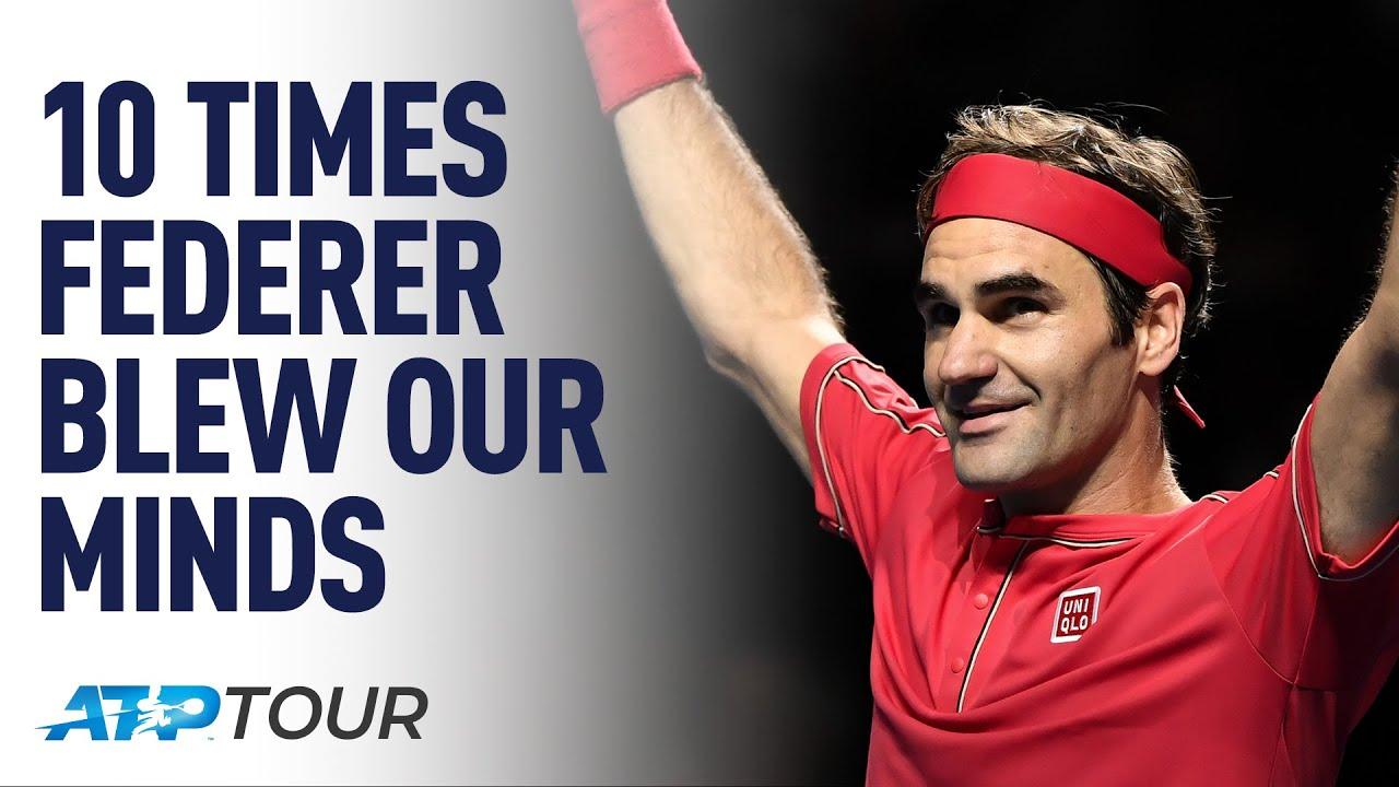 10 Times Roger Federer Blew Our Minds