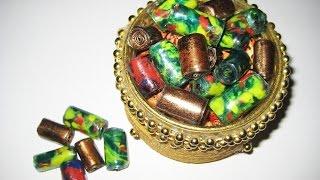 getlinkyoutube.com-DIY Бусины из пластиковых бутылок своими руками. Мастер класс \ Beads from plastic bottles