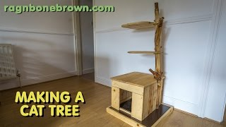getlinkyoutube.com-Making A Cat Tree (part 1 of 2)