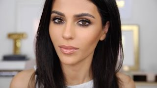 getlinkyoutube.com-Natural Glam Makeup + Standout Lashes | Natural Makeup Tutorial | Teni Panosian