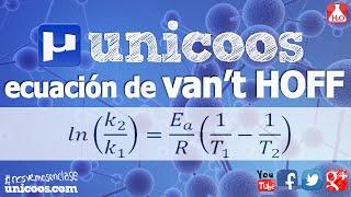 Imagen en miniatura para Ecuación de Van't Hoff