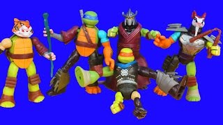 Teenage Mutant Ninja Turtles TMNT Mutations Leo Mikey Splinter Shreder Tiger Claw