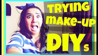 getlinkyoutube.com-Failing at Make-up DIYs | RealTalkTuesday | MostlySane