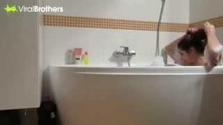 getlinkyoutube.com-cara ngerjain pacar saat lagi mandi