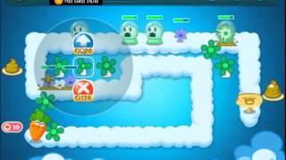 getlinkyoutube.com-Carrot Fantasy Skyline Level 6 walkthrough
