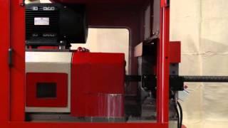 getlinkyoutube.com-Rebar Threading Machine TS56R Chamfer Turn and Thread Roll