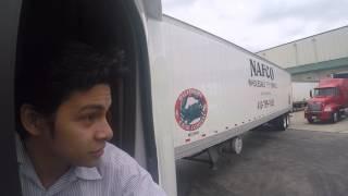 Como parkiar la traila entre dos camiones (audio ta algo mal)