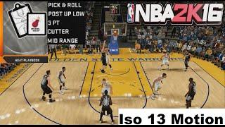 getlinkyoutube.com-NBA 2K16 Heat Playbook Iso 13 Motion