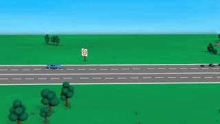 Road rules: keeping left