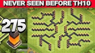 getlinkyoutube.com-Clash of Clans - TH10 Farming Base 2015 w/ 275 walls | NEVER SEEN BEFORE | Speed Build