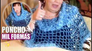getlinkyoutube.com-Prenda MIL FORMAS - Tejido con dedos - Tejiendo con Laura Cepeda