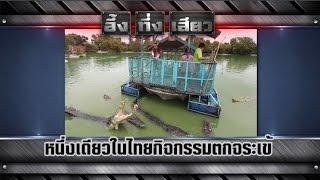getlinkyoutube.com-อึ้ง ทึ่ง เสียว | หนึ่งเดียวในไทยกิจกรรมตกจระเข้ | 5 ก.ย.58 | ช่อง 8