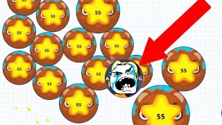 getlinkyoutube.com-Agar.io Biggest Fail Ever Solo And Team Agario Mobile Gameplay!