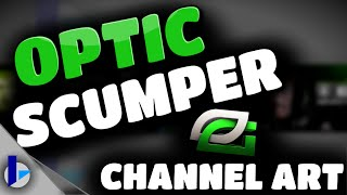 "getlinkyoutube.com-OpTic Scumper ""The King"" - Channel Banner Speed Art (Pixlr)"