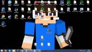 getlinkyoutube.com-Especial #3-Tutorial Como Colocar Fonte Do Minecraft No Cinema4D