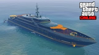 getlinkyoutube.com-Purchased A Yacht In GTA 5 Online PS3 & Xbox 360?