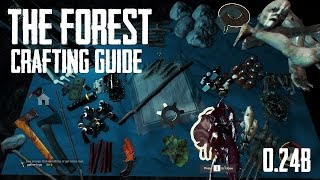 The Forest Crafting Guide: Alpha 0.24b