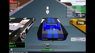 getlinkyoutube.com-My Street Racing Unleashed Cars On Roblox drag race