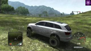 getlinkyoutube.com-Test Drive Unlimited 2 (TDU2) - trainer - Q7 Monster Truck / Race version