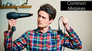getlinkyoutube.com-3 Popular/Common Hairstyling Mistakes | Mens Hair Tips 2016