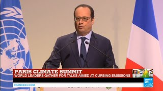 getlinkyoutube.com-REPLAY - Paris Climate Summit: Watch French president François Hollande's address - COP21