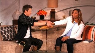 getlinkyoutube.com-QUEEN LATIFAH GETS HER MIND READ by COLLINS KEY :: THE QUEEN LATIFAH SHOW