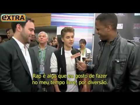 EXTRA: entrevista de Justin Bieber e Scooter Braun no Tribeca Film Festival 2012 [LEGENDADO]