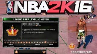 getlinkyoutube.com-NBA 2K16 HITTING LEGEND 1!