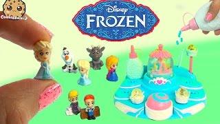 getlinkyoutube.com-Disney Frozen Glitzi Globes Queen Elsa's Ballroom Water Playset Toy Maker + Display Cookieswirlc