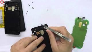 getlinkyoutube.com-Replacement original spare lcd for Sony E2003 E4g