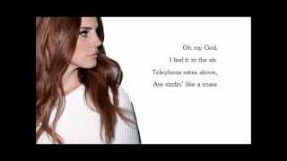 getlinkyoutube.com-Lana Del Rey Summertime Sadness Lyrics