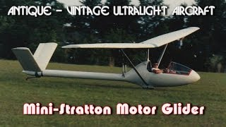 getlinkyoutube.com-Mini Stratton, Mini-Stratton D7 ultralight motor glider