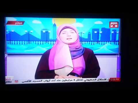 اعتذار قناة مصر الان عن اذاعة الحلقات بدون استئذان