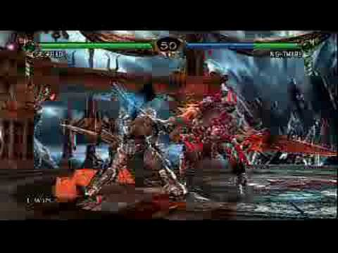 soul calibur 4 gameplay siegfried vs nightmare
