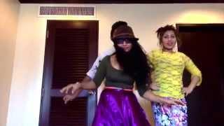 getlinkyoutube.com-CRAZY Hotel Dance by Bangla Actress Alisha Pradhan...FUNNY CLIP