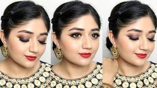 getlinkyoutube.com-Festive Indian Makeup Tutorial with L'Oreal Paris | corallista