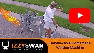getlinkyoutube.com-Diy project - homemade machine that walks