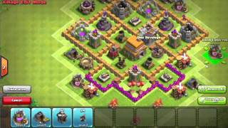 getlinkyoutube.com-Th6 UNBEATABLE BASE!!! ANTI GIANT/HEALER/BALLOON!!! TWO REPLAYS!! NO STARS!!