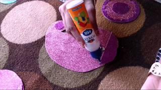 getlinkyoutube.com-Easy Rangoli Making Idea For Diwali Decoration | Craftlas