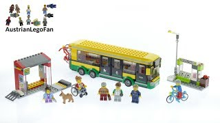 Lego City 60154 Bus Station - Lego Speed Build Review