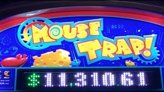 getlinkyoutube.com-MOUSE TRAP Slot Machine ✦ LIVE PLAY w/Kitty Glitter and Miss Kitty Gold ✦ Toronto and Vegas!