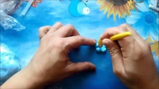 getlinkyoutube.com-Soguk porselen hamurundan çiçek yapimi