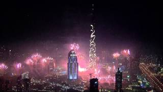 getlinkyoutube.com-Dubai New Year's Fireworks 2015 HD 1080p
