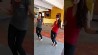 Girls are dancing by DJ songs telugu